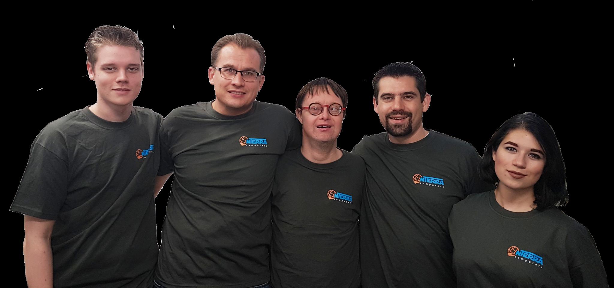 teamfoto Acties
